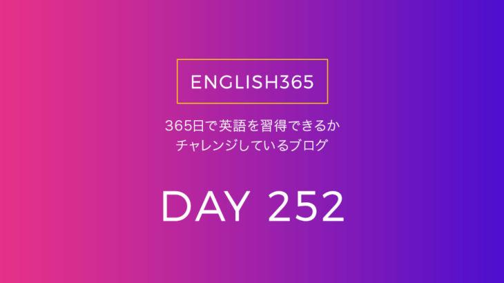英語習得チャレンジ「252日目」…hole/陰謀論は理屈に穴がある