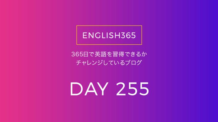 英語習得チャレンジ「255日目」…In case of /いろんな場合がある